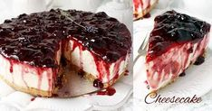 time is priceless Greek Desserts, Cold Desserts, Party Desserts, Greek Recipes, Easy Cheesecake Recipes, Sweets Recipes, Cookie Recipes, Sweets Cake, Food Inspiration
