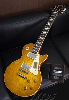 Gibson Custom Shop Historic Collection 1959 Les Paul Standard Reissue Lightly Aged 2013 Version Green Lemon SN.931402
