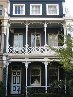 An Early Victorian Terrace House - East Melbourne by raaen99, via Flickr