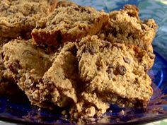 Oatmeal Peanut Butter Bars from FoodNetwork.com