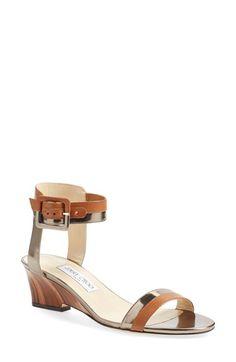 Jimmy Choo 'Mansy' Ankle Strap Sandal (Women)
