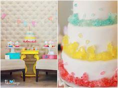 Rock Candy Birthday Cake