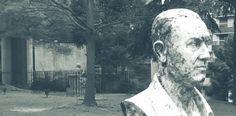Perón con fondo de Borges Antonio Mora, Artwork, Work Of Art