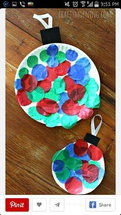 Christmas balls for kids arts and crafts for christmas
