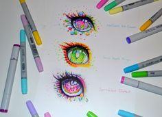 Candy Eyes by Lighane.deviantart.com on @DeviantArt