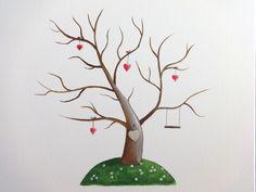 Wedding tree II, oil painting
