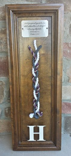 Unity Wedding Braid with LARGE PLAQUE / by rusticloveboutique