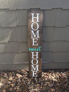LARGE Front porch sign home sweet home sign welcome sign | Etsy