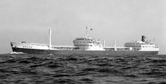 SS Aulica in her Shell Tankers(UK) livery