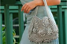 too cool purse out of pull tabs