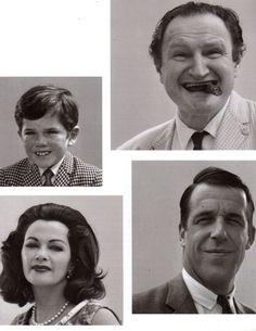 The Munsters out of make up.......very scary!