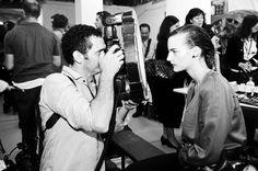 fashion photography backstage (www.daviddumon.be)