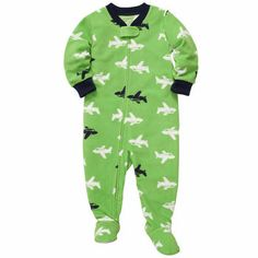 Carter's Baby Pajamas, Baby Boys One-Piece Airplane Coverall Baby Boy Pajamas, Carters Baby Boys, Toddler Boys, Toddler Stuff, Boys Christmas Pajamas, Baby Boy Christmas, Toddler Outfits, Baby Boy Outfits, Kids Outfits