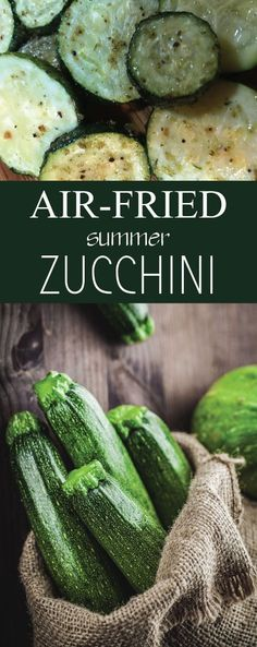 When it comes to the ample selection of summer produce out right now, let's face it, just about everything is more exciting than zucchini. But…if cooked right zucchini can be delicious! I love cooking it in my air fryer as it is much healthier than frying Air Frier Recipes, Air Fryer Oven Recipes, Air Fryer Recipes Gluten Free, Air Fryer Recipes Vegetarian, Zucchini Rounds, Zucchini Fries, Roast Zucchini, Zucchini Appetizers, Cooks Air Fryer