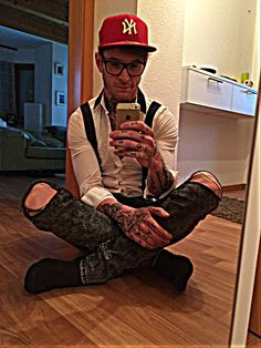 #skinny #tattoo men style