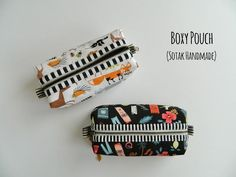 Hello friends, welcome! Most of you know by now pouches of different shapes and sizes are one of my very favorite projects to sew and today I'm happy to share a new free tutorial for a boxy pouch with