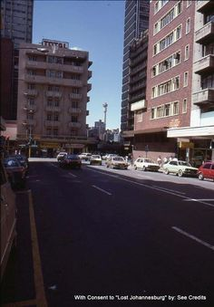 Twist Street looking north. Johannesburg City, Third World Countries, The Good Old Days, South Africa, Landscape Photography, Street View, Cities, Spaces, Cabinet