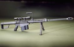Barrett Light 50.  Anything but light, but my god what a gun.