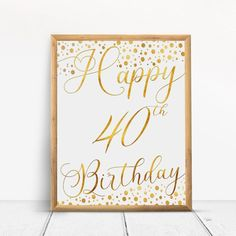 Items similar to Happy Birthday Sign, Cheers to 60 Years, Anniversary Sign, Confetti Gold Birthday Party Decoration, Birthday décor on Etsy Happy 80th Birthday, Birthday Cheers, Gold Birthday Party, Birthday Gifts For Sister, Happy 40th, Birthday Quotes, Homemade Anniversary Gifts, Anniversary Gifts For Parents, 70th Anniversary