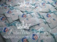 ¡¡Hermosas Invitaciones Elegantes Bautizo Bubble Guppies Gil!!