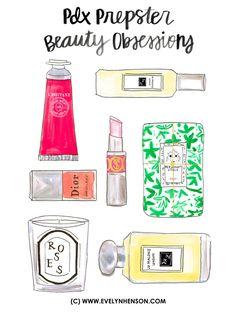https://www.pinterest.com/LineBotwin/g-i-r-l-y-i-l-l-u-s-t-r-a-t-i-o-n-s/  Beauty Obsessions www.evelynhenson.com