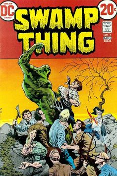Swamp Thing #5 - Wrightson