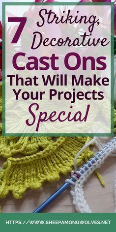 Cast On Knitting, Knitting Basics, Knitting Help, Knitting Stiches, Knitting Kits, Circular Knitting Needles, Knitting For Beginners, Loom Knitting, Crochet Stitches