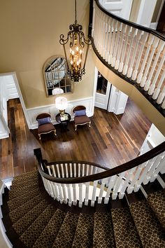 Foyer and Staircase by Jane Lockhart