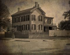 Lincoln's home in Springfield...