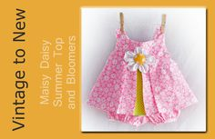 The pattern is available here: http://vintagetonew.com/product/maisy-daisy-summer-top-with-bloomers-pdf-pattern-and-video/ . This PDF Pattern is the Maisy Da...