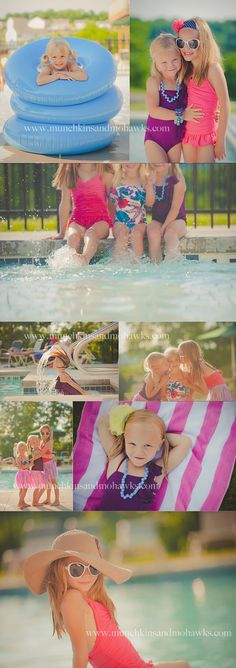 swim suit session - i would DIE for an in ground pool to do these!