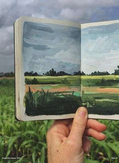 Sketch Book July 2015 :: Carrie Shryock More - Sketchbook Inspiration, Art Sketchbook, Painting Inspiration, Art Inspo, Gouache Illustrations, Illustration Art, Gouache Painting, Painting & Drawing, Minimalist Bullet Journal