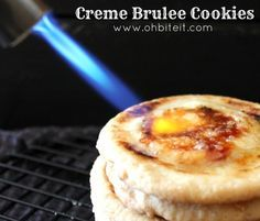 ~Creme Brulee Cookies! Creme brûlée is one of my favorite desserts. Now it can be a cookie!