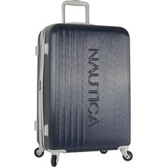 Nautica Lifeboat 28 Inch Hardside Spinner Suitcase