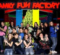 Branson Family Fun Factory-There are few things that offer as much fun, excitement, and thrills under one roof as the Branson Family Fun Factory!