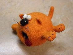 """""""Весеннее обострение"""". Или валяем рыжего кота. - Ярмарка Мастеров - ручная работа, handmade"""