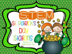 Your lucky leprechauns will love these four St. Patrick's Day themed STEM pack. This pack is filled with hands on activities that will engaged your students in March and beyond.  If your interested in seeing one of the STEM stations in action...the Conveyor Belt... you can find it here on my blog:  http://scienceschoolyard.blogspot.com/2016/03/st-patricks-day-stem-stations.html