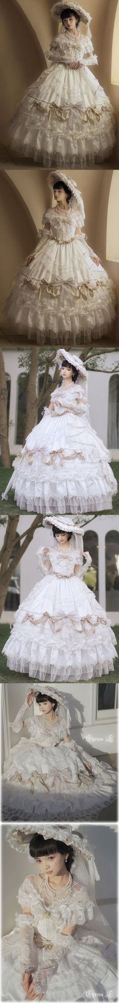 Real Costumes, Tomorrow Is Another Day, Casual Attire, Jacquard Fabric, Lolita Dress, Veil, Bodice, Princess, Wedding Dresses