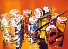 Audrey Flack, Rich Art, 1972-73, 50 x 36 in. Photorealism