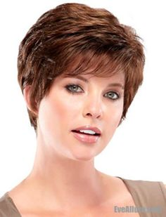 Hairstyles for Women Over 70 | Short Wigs For Women Over 70 | Short ...