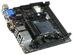 MSI announces mini-ITX A88XI AC motherboard