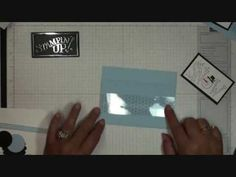 Tri Fold Pocket card with Dawn - YouTube