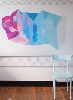 Geometric No. 1 Andrew o'brien melbourne artist