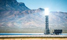 La mayor planta solar en la actualidad se encuentra en la provincia china de Qinghai (seguida muy de cerca de la gigante Ivanpah CSP en California), se tra