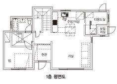 【음성 전원주택】 친구 따라 귀촌해 지은 주택 : 네이버 포스트 Floor Plans, House Design, Home, Architecture Illustrations, House Plans, Home Design, Haus, Homes, Houses