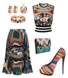 """Multicolor mania"" by dtlpinn on Polyvore featuring Giuseppe Zanotti, Givenchy and Salvatore Ferragamo"