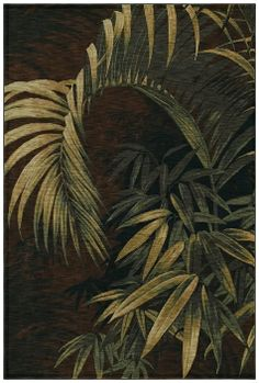 tommy bahama rugs tropical | ... Tropical Leaf Floral Area Rug - Tommy Bahama by Shaw | Rugs by