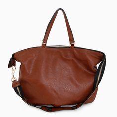 Zipper Strap Shoulder Bag