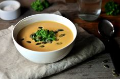 Kremet søtpotetsuppe Soup, Ethnic Recipes, Soups, Soup Appetizers