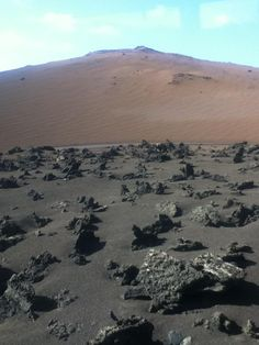 Timanfaya VOLCANIC NATIONAL PARK, LANZAROTE, CANARY ISLANDS SPAIN